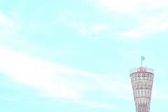 夏のポートタワー【2018年8月】