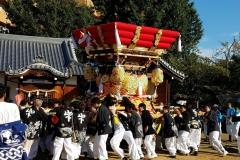 大窪八幡宮秋祭り【2017年10月】